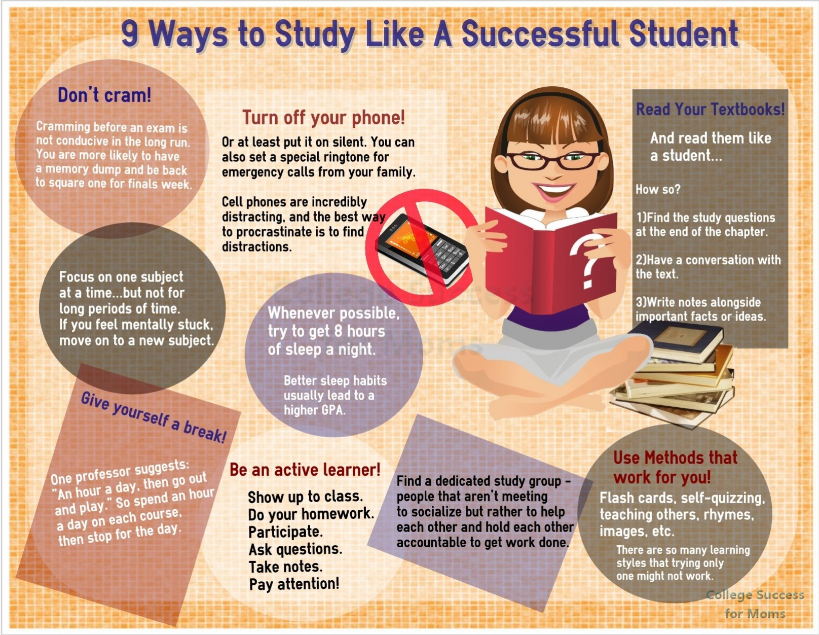 Image result for 9 ways to study like a successful student