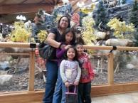 Charlene with her children