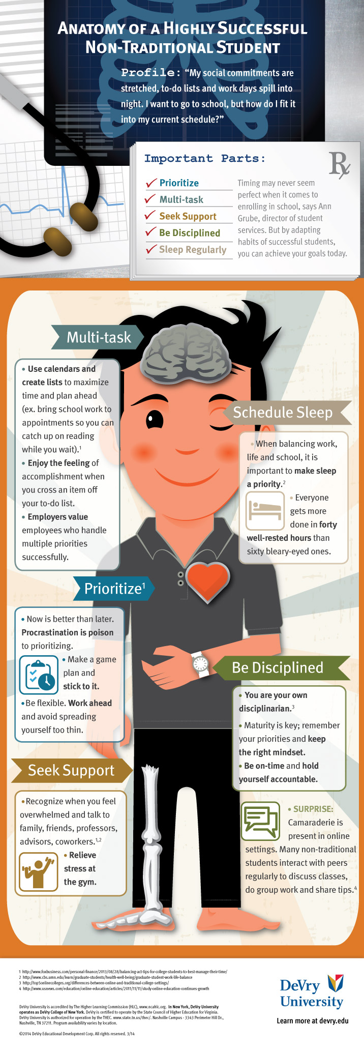 Anatomy of a Non-Traditional Student (Infograph) – College Success ...